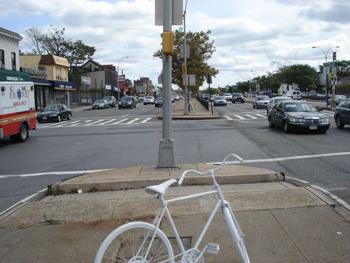 James Ghost Bike