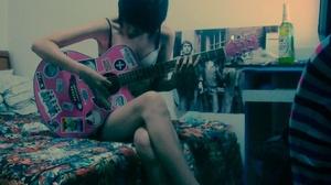 douban pink guitar